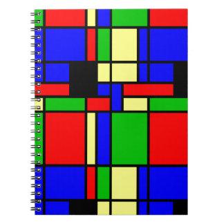 Cuaderno Mondrian modelo