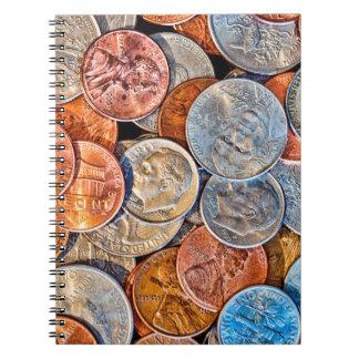 Cuaderno Moneda acuñada