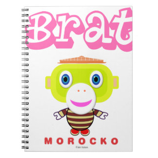 Cuaderno Mono-Morocko Palo de golf-Lindo