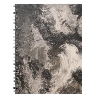 Cuaderno monocromatica del tormenta