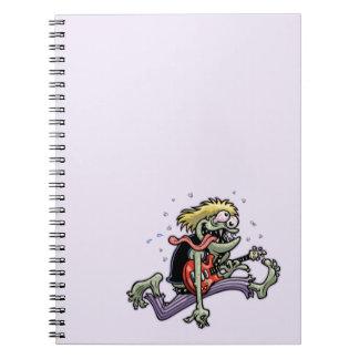 Cuaderno Monstruo de la roca