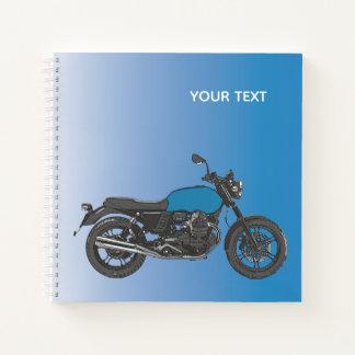 Cuaderno Motocicleta