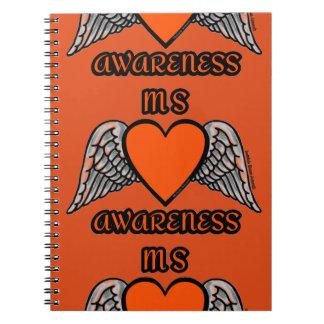 Cuaderno Ms del corazón/de las alas…