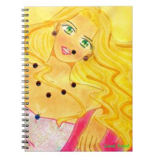 Cuaderno mundial de Brooklyn de la mujer Cuaderno