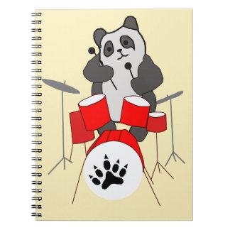Cuaderno músico de la panda