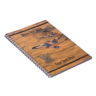 Cuaderno Mystères estupendo israelí sobre el desierto