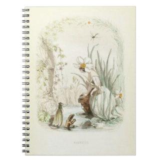 Cuaderno Narciso de Les Fleurs