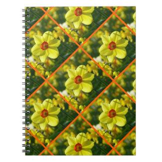 Cuaderno Narcisos amarillo-naranja 02.2.3o