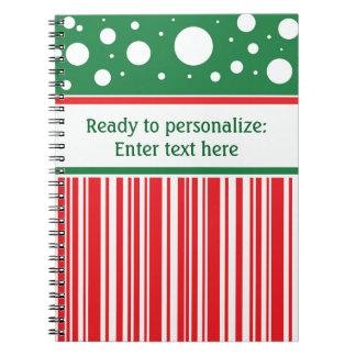 Cuaderno Navidad raro