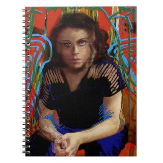 Cuaderno Negro huérfano el | Tatiana Maslany - collage del