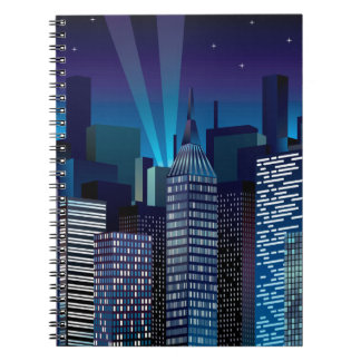 Cuaderno NightCityScape_VectorDTL