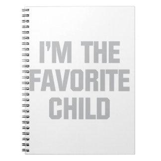 Cuaderno Niño preferido