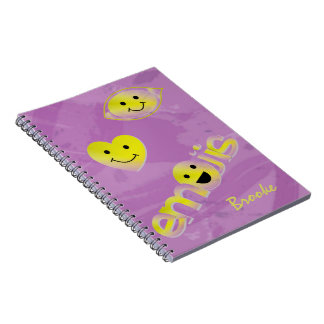 Cuaderno Niños Emoji personalizado