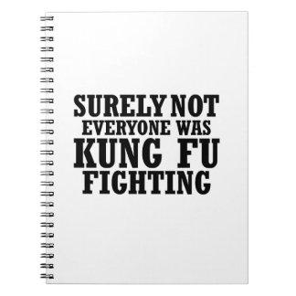 Cuaderno No cada una era seguramente lucha divertida de