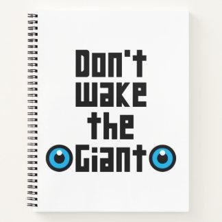 Cuaderno No despierte el gigante