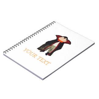 Cuaderno Nombre del personalizado del vampiro de Drácula