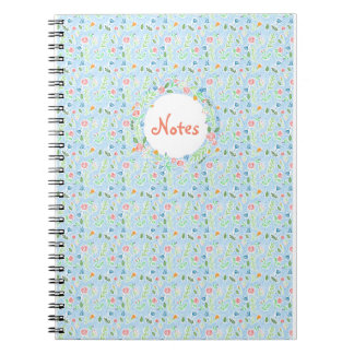 Cuaderno Notas de la primavera