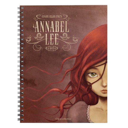 "Cuaderno Notebook ""Annabel Lee"""