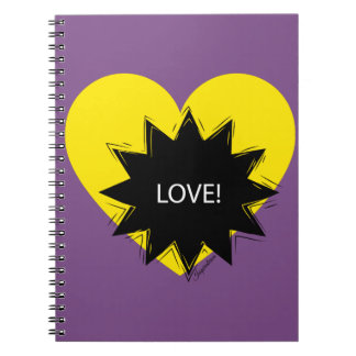Cuaderno Notebook LoveWow