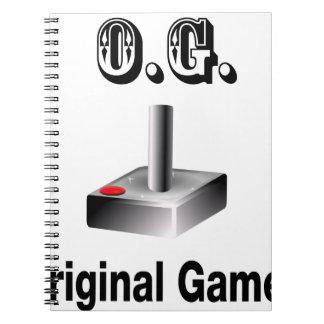 Cuaderno O.G. Videojugador original