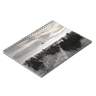 Cuaderno Orbes azules misteriosos