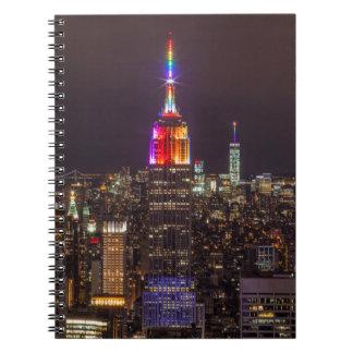 Cuaderno Orgullo del Empire State Building