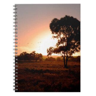 Cuaderno Oro de la tarde