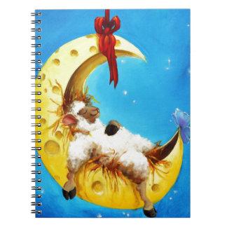 Cuaderno Ovejas lindas en el cuarto de niños incógnito de