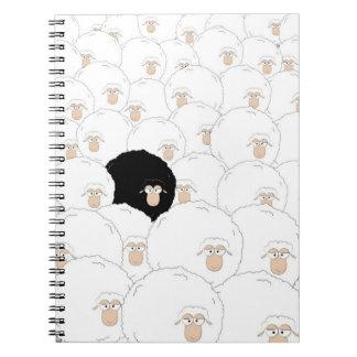 Cuaderno Ovejas negras