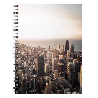 Cuaderno Paisaje urbano de Chicago