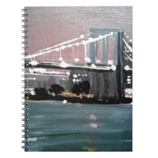 Cuaderno Paisaje urbano oscuro