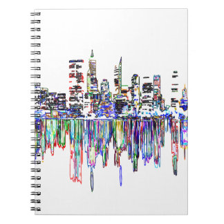 Cuaderno Panorama de la ciudad