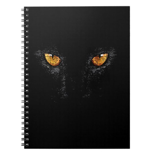CUADERNO PANTHER,BLACK,NIGHT