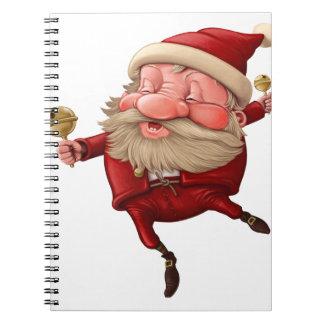 Cuaderno Papá Noel y el baile de la campana
