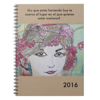 Cuaderno para acabar y empezar bien el año