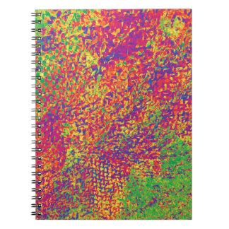 Cuaderno Para el amor de colores - Psychadelic