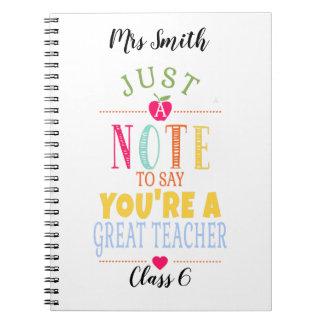 Cuaderno para el profesor -