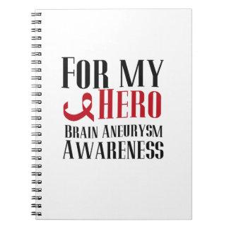 Cuaderno Para mi regalo de la conciencia del Aneurysm del