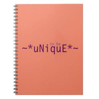 Cuaderno Para ser único