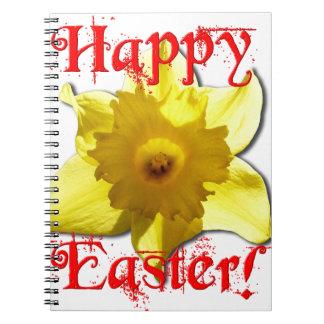 Cuaderno Pascua feliz, narcisos 02.T