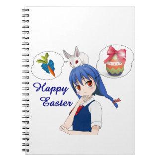 Cuaderno Pascua feliz (personalizable)