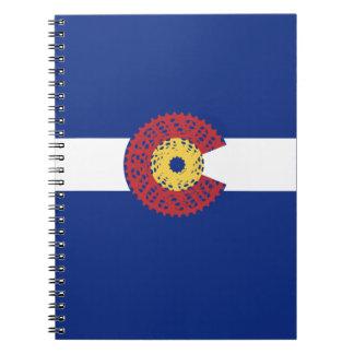 Cuaderno Paseo Colorado (casete de la bicicleta)