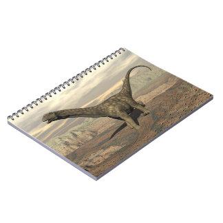 Cuaderno Paseo del dinosaurio del Argentinosaurus - 3D