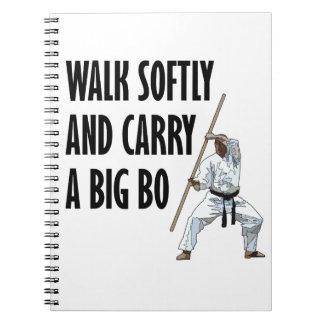 Cuaderno Paseo suavemente BO