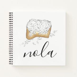 Cuaderno Pasteles azucarados de NOLA New Orleans Luisiana