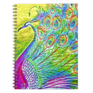 Cuaderno Pavo real