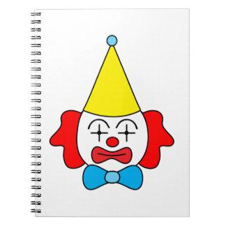 Cuaderno Payaso - cara divertida
