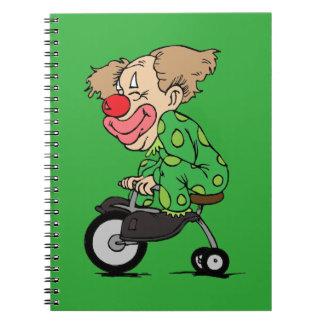 Cuaderno Payaso en el triciclo