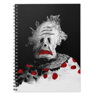 Cuaderno Payaso espeluznante