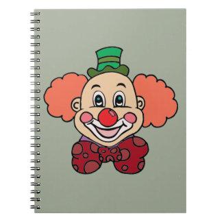 Cuaderno Payaso feliz de la cara